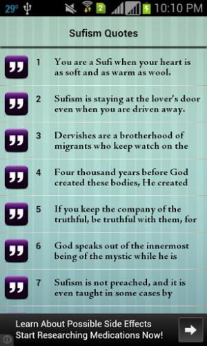 Sufism Sufi Quotes