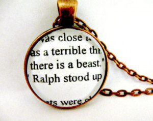 Simon Lord Of The Flies Quotes Lord of the flies necklace