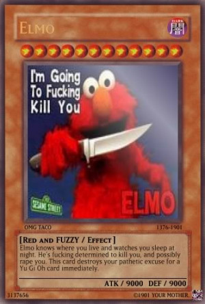 cookie monster vs elmo