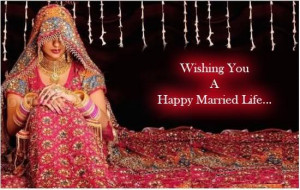 Fabulous Married Life Quotes Wishing You A Happy Married Life....