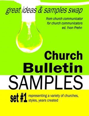 Church Bulletin Fillers And Quotes