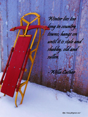 These Are The Winter Quote Pictures