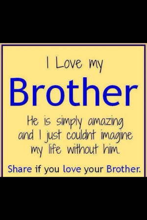 Love Letter To Sister From Brother