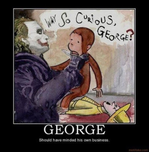 Curious George and the Joker