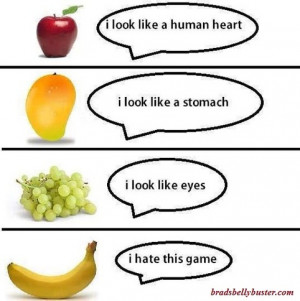 funny cartoon health fruit fitness hump day funny comments 1