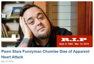 Pawn Stars' Chumlee Dead Again: Death Hoax Rises From The Grave ...
