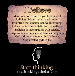 ... Funny Atheist Quotes, Atheist Wedding, Truths, Atheist Easter, Atheism