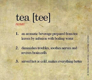Definition of Tea