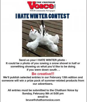hate winter poem