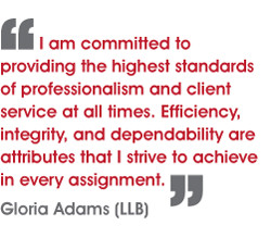 She is proud to offer clients an immediate, affordable solution to the ...