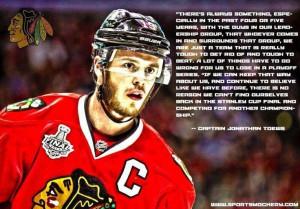 Jonathan Toews- Chicago Blackhawks