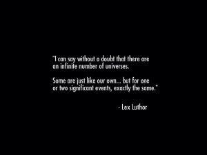 LEX LUTHOR Injustice Quote