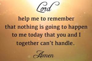 Short Prayers for Strength