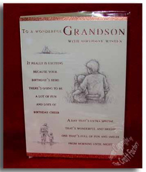 quotes grandson birthday quotes birthday verses poems grandson ...