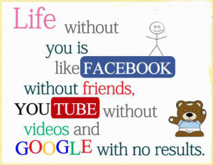 Without You Is Like Social Media Quotes, Living Without You Quotes of ...