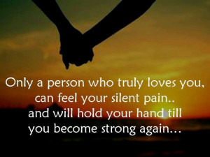 Feel your silent pain