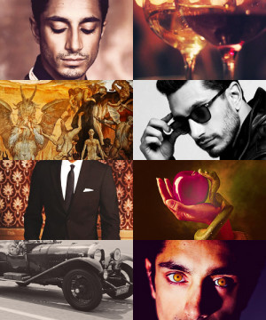 Good Omens fan-cast : Riz Ahmed as Crowley