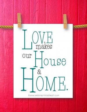... Quote Print, Printable Art Wall Decor, Inspirational Quotes Home Decor