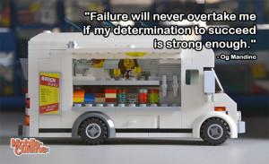 Og Mandino Determination Quote