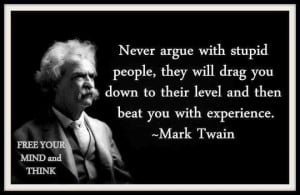 How to deal with ignorant people ?