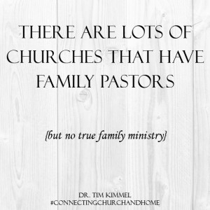 Church Family Quotes Connecting church and home,