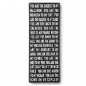Home » You Are The Cheese To My Macaroni Plaque