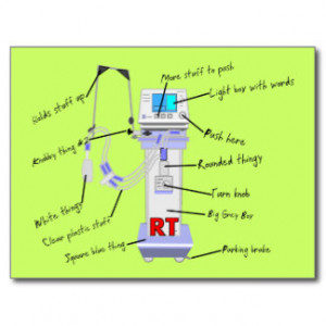 Respiratory Therapist Gifts Post Card