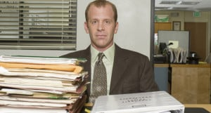 ... the stereotypes that The Office's own HR officer, Toby, represents
