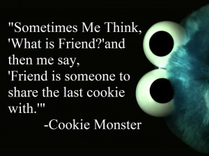 1280x960 quotes cookie monster sesame street 1681x1050 wallpaper Art ...