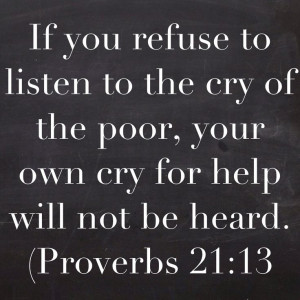 if you want to help the poor.Republicans will tell the working poor ...