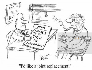 Joint Replacement cartoons, Joint Replacement cartoon, funny, Joint ...