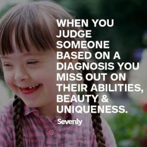 When you Judge Someone