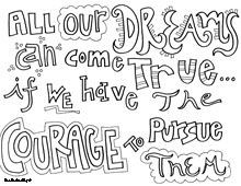 coloring pages more quote coloring pages walt disney disney quotes ...