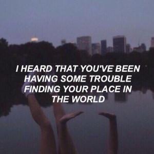 all time low, dark, grunge, lyrics, quotes, sad, trouble, tumblr
