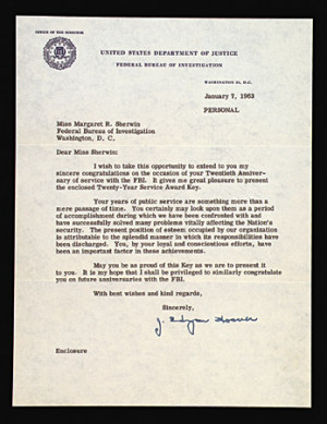 Edgar Hoover Autograph Collection (3)