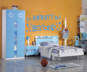 ... -INFINITY-AND-BEYOND-Toy-Story-Buzz-Lightyear-Boys-Wall-Sticker-Quote