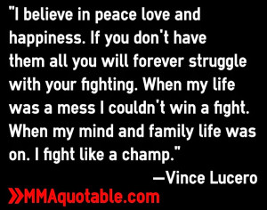 Fighting Family Quotes When my mind and family life