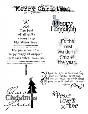 Christmas Sayings About Family
