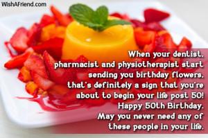 happy 50th birthday message