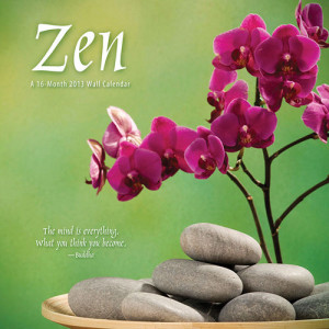2013 Zen Calendars, Planners, Date Books and Organisers