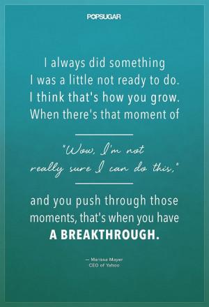 STAAK QUOTES: Breakthroughs