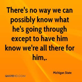 Michigan State Quotes