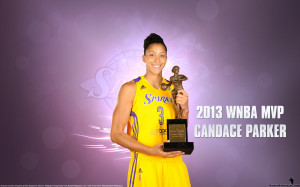 Candace Parker 2013 WNBA MVP Wallpaper