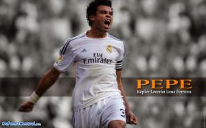 Download Pepe Real Madrid Wallpaper HD 2014