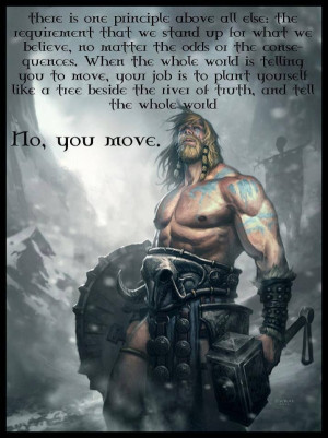 Some badass viking motivation.