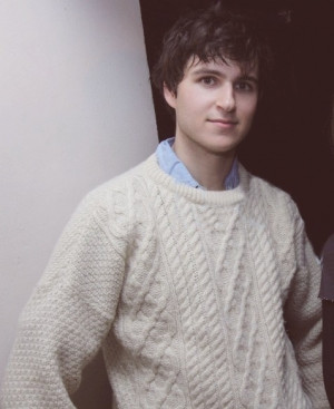 Ezra Koenig. He could easily be a model for Ralf Lauren.