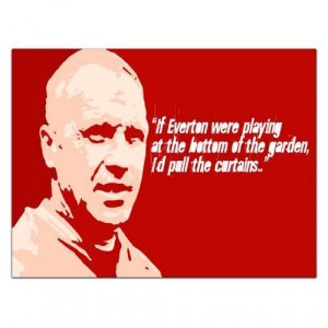 Bill Shankly Liverpool Fc Quote Art Print Poster
