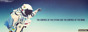 Empires of The Future Redbull Space Jump Quote Facebook Cover
