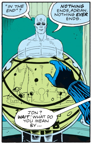 Was the slipstreaming Doctor Manhattan's ominous Watchmen coda a sign ...