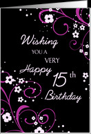 15th Birthday Cards